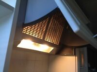 Over cooker extractor fan