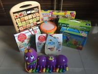 Mr Tumble Something Special, Teletubbies Jigsaws, Alphabet Pal, Shape Drum and Abacus