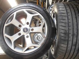 """18"""" FORD TRANSIT ST STYLE ALLOY WHEELS / TYRES"""