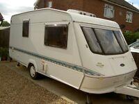 1998 Elddis Hurricane Vogue GT 470/2 – 2 Berth Touring Caravan