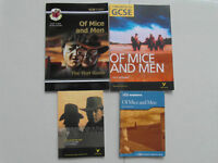 GCSE Of Mice and Mens guides x 4.