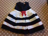 John Lewis 9-12 month dress
