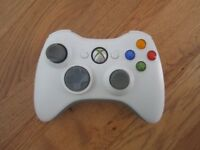 Microsoft Xbox 360 Wireless Controller Remote Black/White
