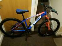 Cube Aim mountain bike with fluid brakes