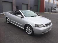 Vauxhall Astra convertible 2004 1.8 huge history file 12 months MOT