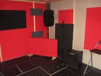 Soundproofed Music Studio for Band or Producer | Monthly Rolling Contract | 6am-11:40pm Access