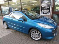 PEUGEOT 207 CC 1.6 16v GT 2dr Auto (blue) 2008