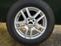 BMW X5 E53 BRAND NEW WHEEL AND TYRE