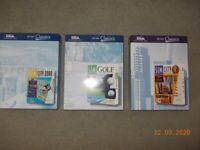 Sims x 3 PC CD Roms