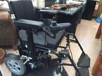 Electric wheel chair, wheeltech enigma