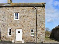 Holiday Cottage rental, Yorkshire, for 2 weeks starting Sat 7th. July 2018