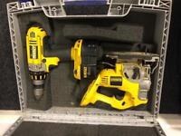 Dewalt 18v jigsaw and drill set