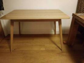 John Lewis wooden dining table