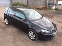 2009 VOLKSWAGON GOLF 2.0 TDI SE DSG AUTO 5 DOOR HATCHBACK BLACK