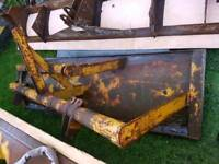 3 point linkage snowplough for tractor 7ft wide £300