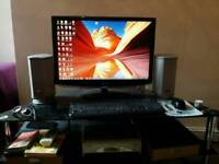 "Full PC setup, 4GB RAM, 320GB HDD, 24"" FULL HD SAMSUNG MONITOR, KEYBOARD, MOUSE"