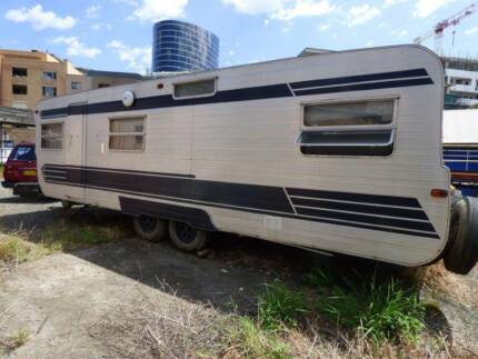 Vintage Millard Caravan Custom Built Original Condition One Owner Parramatta Parramatta Area Preview