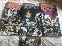 The walking dead graphic novel volume 8-14