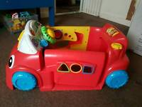 Sit in toy car
