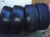 Mg Alloy wheels with tyres