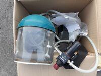 Positive pressure air mask