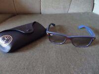 "100% Genuine Ray Ban ""New Wayfarer"" Sunglasses with Genuine Case (RRP £125)"