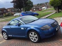 AUDI TT, 1.8t, 2000, 124k miles, SUPERB DRIVE, NEW MOT