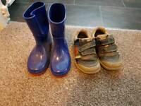 Size 7 boys footwear