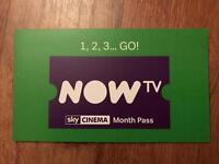 4 month Now TV, Sky movies pass!