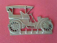 Brass Car Key Hook