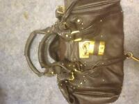 CHOLE LEATHER BLACK HANDBAG OPEN TO OFFERS