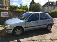 Reliable good little runner - Peugeot 106 1.5 D Zest 2 5dr