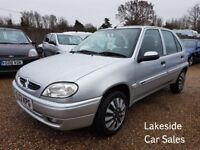 Citroen Saxo 1.1 Desire 5 Door Hatch, Only 2 Previous Owners, Drives Superb, Cheap Insurance.