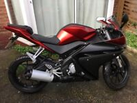 2014 YAMAHA YZF R 125 8000 MILES 1 OWNER FROM NEW LOVELY BIKE