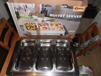 Stainless steel Buffet Server