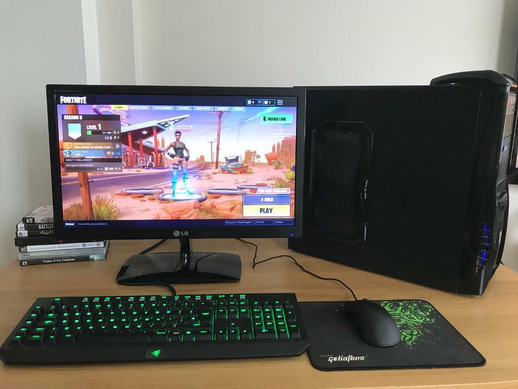 Epic Fortnite Gaming Pc Setup In Alwoodley West Yorkshire Gumtree
