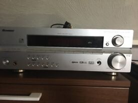 Pioneer amplifier with two speakers