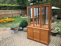 A stunning Teak Display Cabinet/Dresser