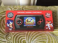Atgames arcade gamer portable with 30 included games