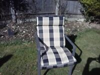 Four garden chairs to sale
