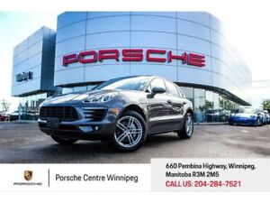 2016 Porsche Macan S Certified Pre-Owned With Warranty Available