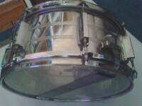 KESTREL 14x6.5 STEEL snare and stand