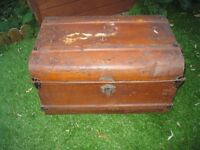 **Bargain** Metal chest trunk