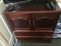 Wood cabinet - good condition