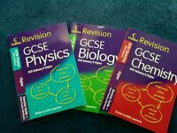 OCR GCSE Science revision guides UNMARKED, Fiver each?