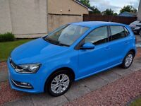 2014 (64) Volkswagen Polo 1.2TSI, BMT, SE, Blue, 5 door, Low Mileage, Immaculate Condition!