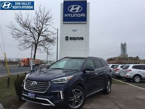 2017 Hyundai Santa Fe XL LIMITED - 19 ALUMINUM ALLOY WHEELS