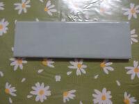 Kitchen Wall Tiles - TETT6235 TINTE Mist Green Gloss Metro - Shiny Textured - 200mmx65mm - 200 off