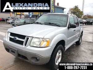 2001 Ford Explorer Sport Trac 4x4 leather safety & e test