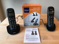 Binatone Vesta 1305 Call Blocker Twin Digital Cordless Telephone